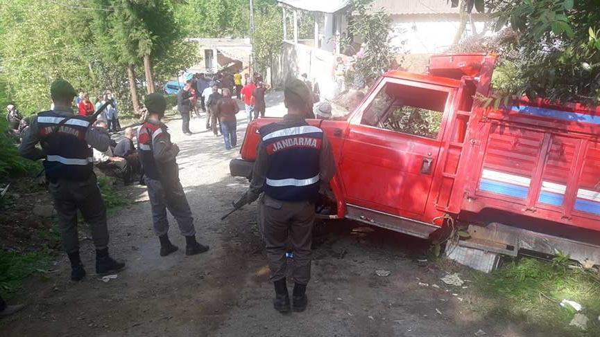 Rize'de öğrencileri taşıyan araç piknik dönüşü kaza yaptı