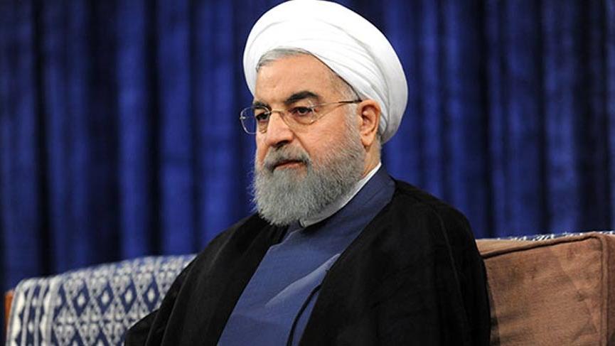 Ruhani'den İsrail ve ABD'ye sert çıkış