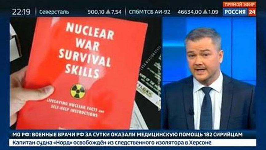 Rus devlet televizyonundan 'savaş' uyarısı: 'Gıda stoklayın'