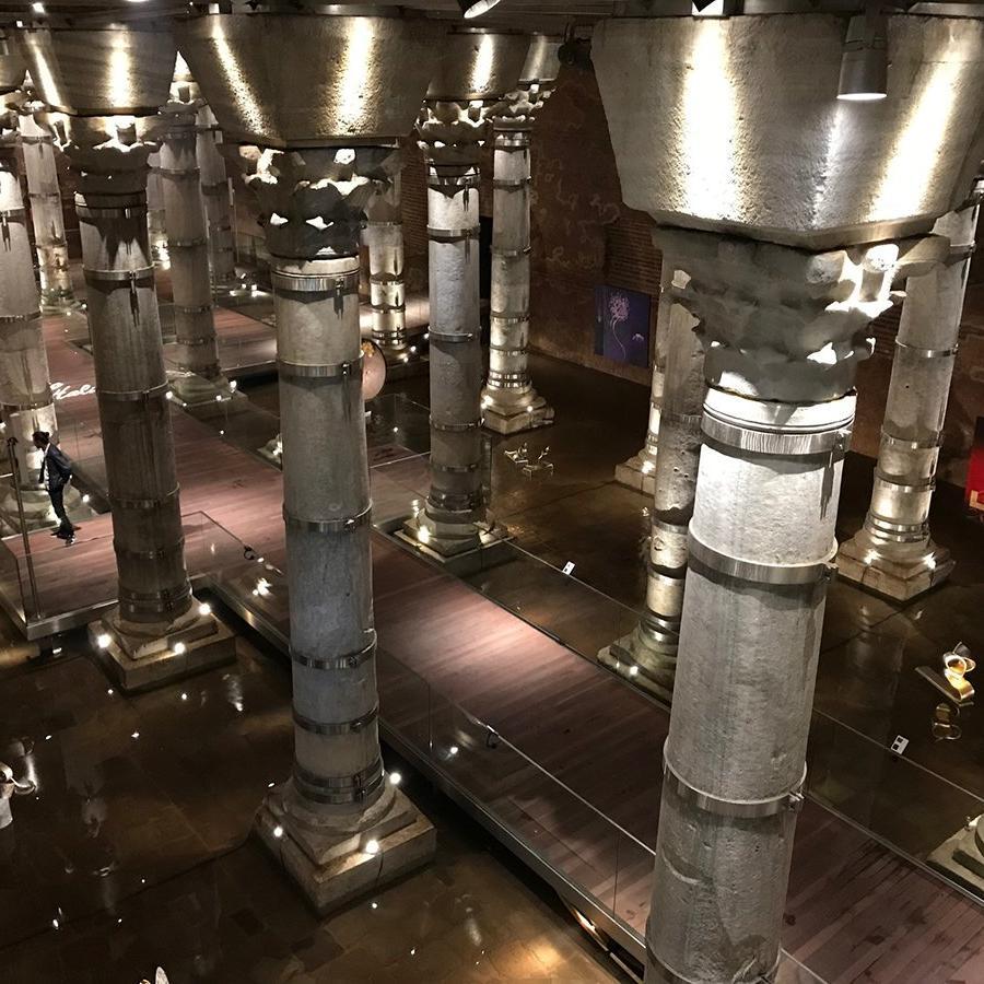 1600 yıllık Şerefiye Sarnıcı restore edildi
