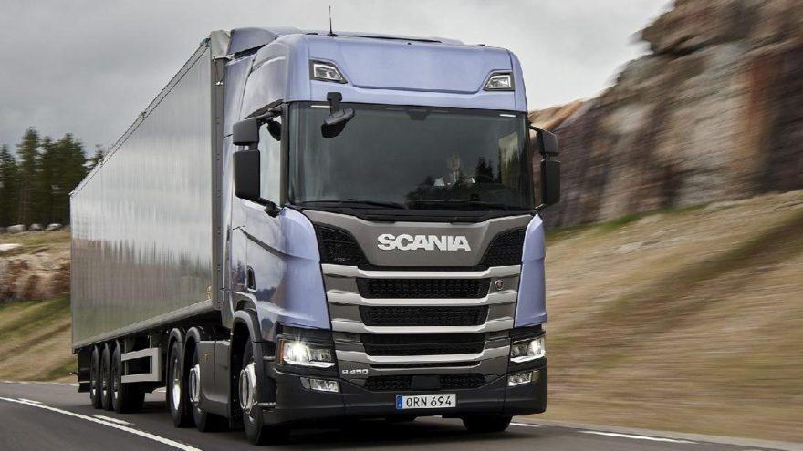 Scania ithal pazarın lideri