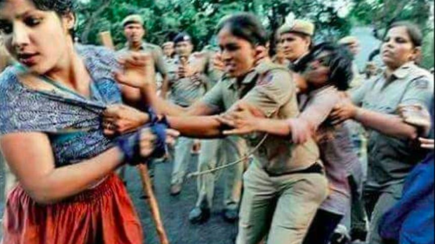 Kadın polis de bunu yaparsa…