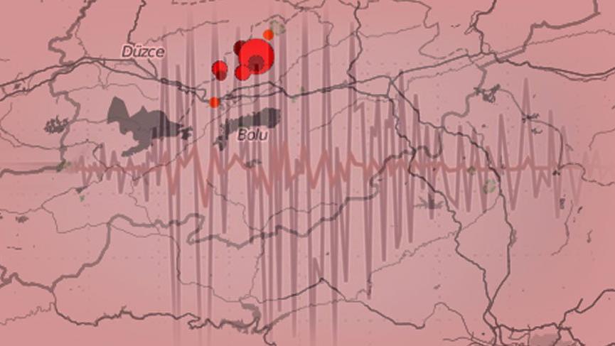 Son depremler: Bolu 00.16'da depremle sallandı! Deprem Düzce ve çevre illerden hissedildi