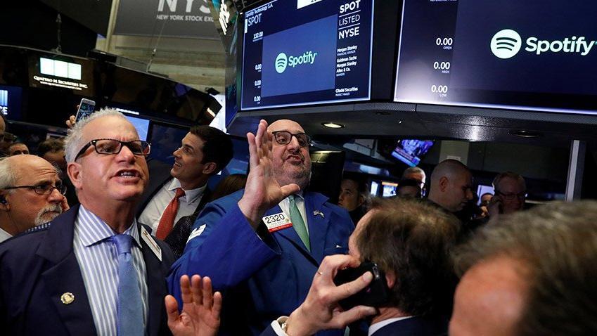 Spotify'ın halka arzında bayrak krizi