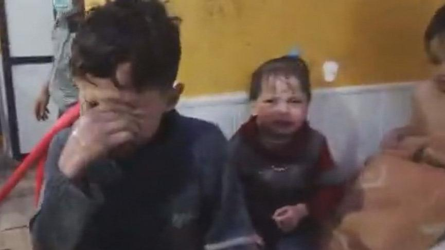 SON DAKİKA: Haberler korkunç! Çocukları vurdular... Esad kimyasal saldırı düzenledi...