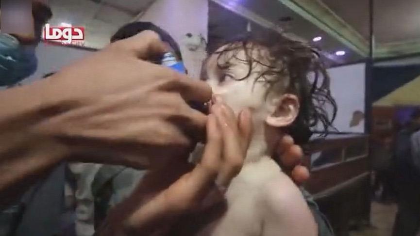 Son Dakika... ABD: Suriye'deki saldırıda sinir gazı kullanıldı