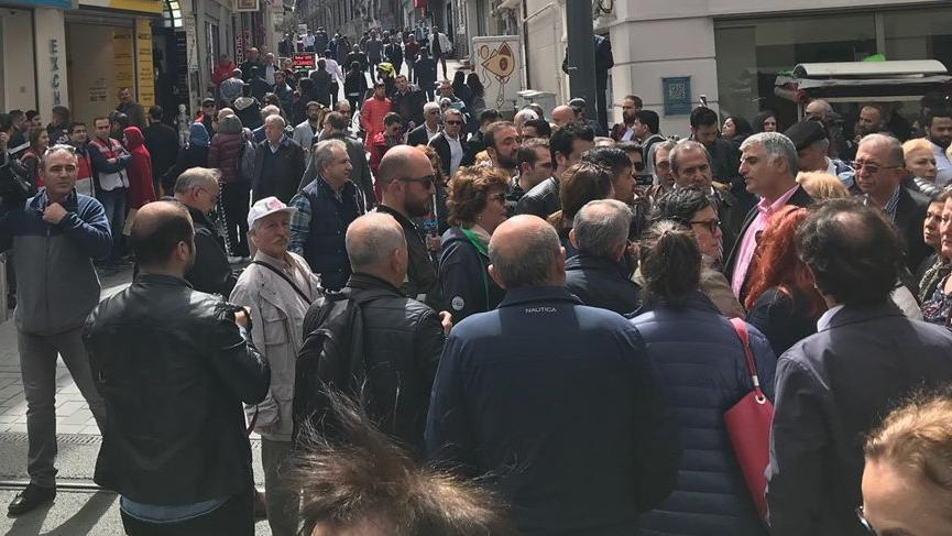 Son dakika… CHP Taksim'e alınmadı