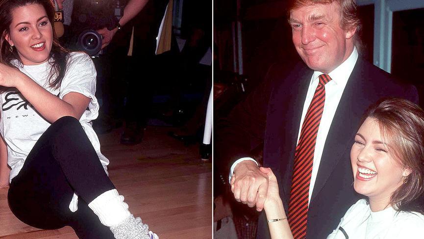 Kainat güzelinden şok suçlama! Trump cinsel ilişki için...