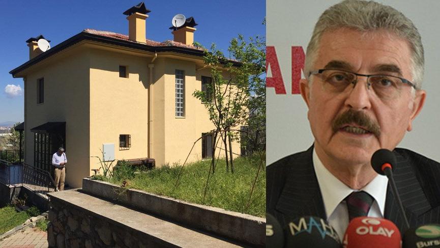 MHP'li Büyükataman'ın villası soyuldu