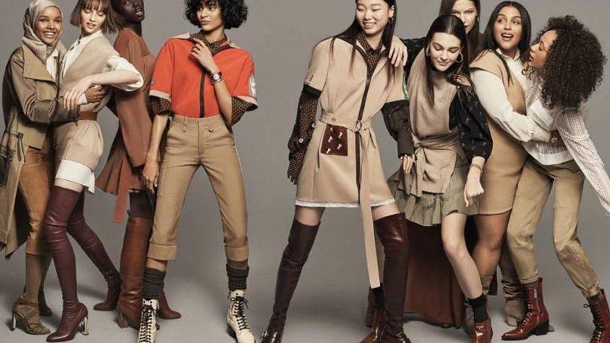 İngiliz Vogue'tan kadınlara destek