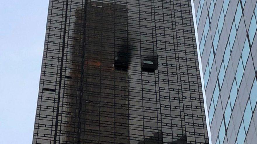 New York'taki yangının arkasından Trump çıktı