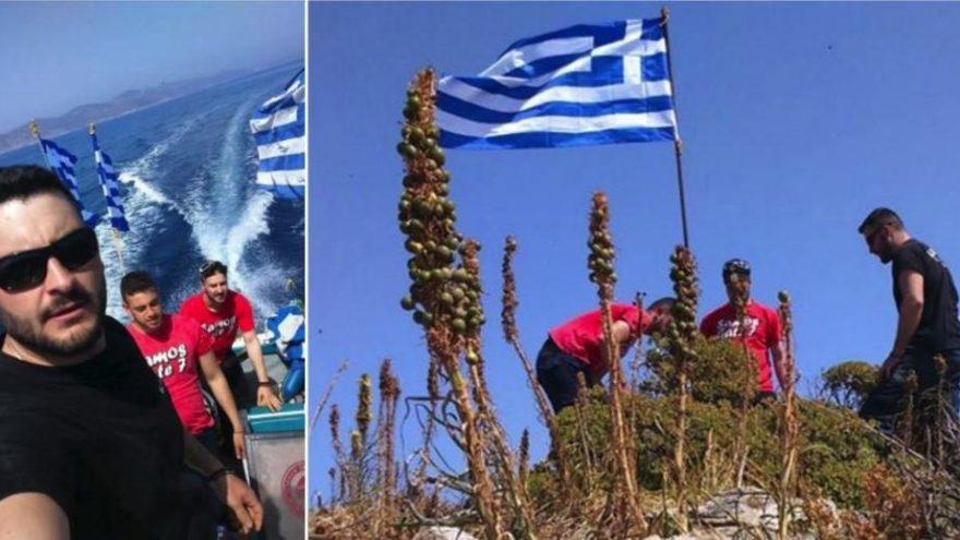 Yunan bakandan bayrak krizine yeni açıklama