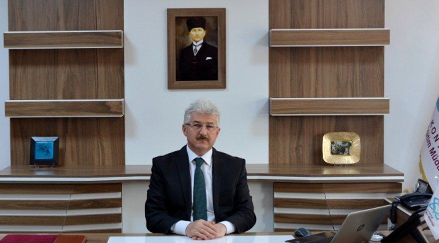 """Konya İl Milli Eğitim Müdürü Gürsoy """"Şaşkınım... Bizimle doğrudan alakası olmayan bir konuydu"""" dedi."""