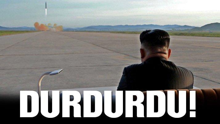 Kim'den radikal karar: Testleri durdurdu!
