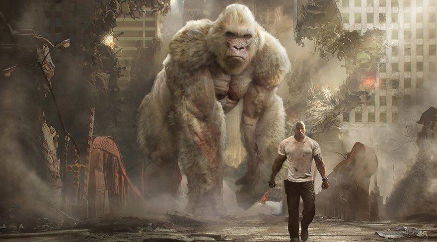 insanları kendinden uzak tutan bir Primatolog olan Davis Okoye, doğumundan beri bakımıyla ilgilendiği oldukça zeki bir goril ile arasında inanılmaz bir bağ kurar.