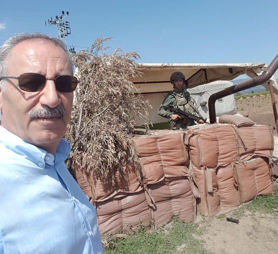 FOTO:SÖZCÜ / Sözcü Ankara Temsilcisi Saygı Öztürk, Kılıçdaroğlu'nun ziyaretini takip ediyor.