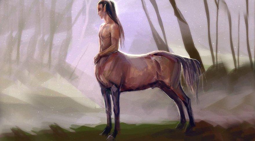 Chiron (Kayron)'la ilgili türlü mitolojik hikayeler anlatılmış, yazılmış ve çizilmiş. Hepsinin ortak özelliği Chiron'nun yarı insan ve yarı hayvan (At) olması, tıptan güzel sanatlara, savaşçılıktan dini ritüellere kadar uzanan geniş bir yelpazede bilgi sahibi olması ve bu bilgiyi etrafındakilere aktarması ve bir rivayete göre savaş yüzünden bir rivayete göre de okçuluk eğitimi verirken ayağına ok saplanması, bir dağda yaşaması ve ölümsüz olması.