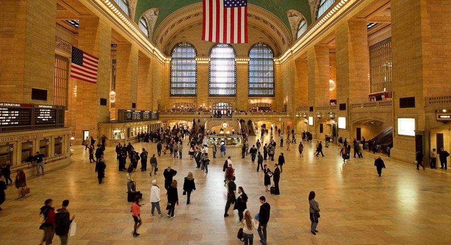 New York'taki Büyük Tren İstasyonu/Fotoğraf: Shutterstock
