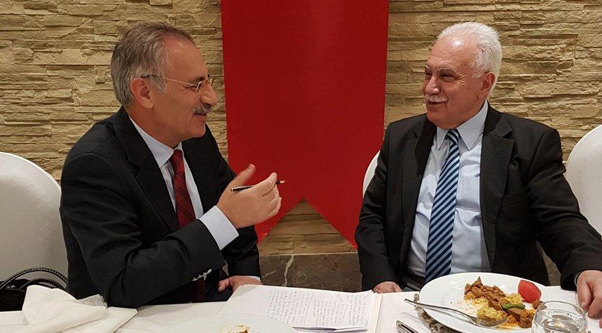 Vatan Partisi lideri Doğu Perinçek, projelerini Saygı Öztürk'e anlattı.