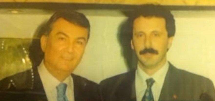 İnce, CHP eski Genel Başkanı Deniz Baykal ile birlikte...