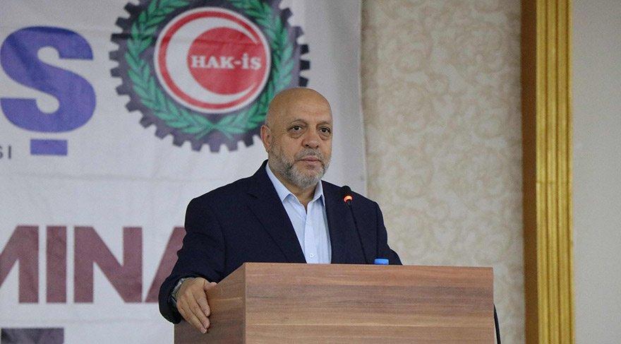 Hak-İş Başkanı Mahmut Arslan