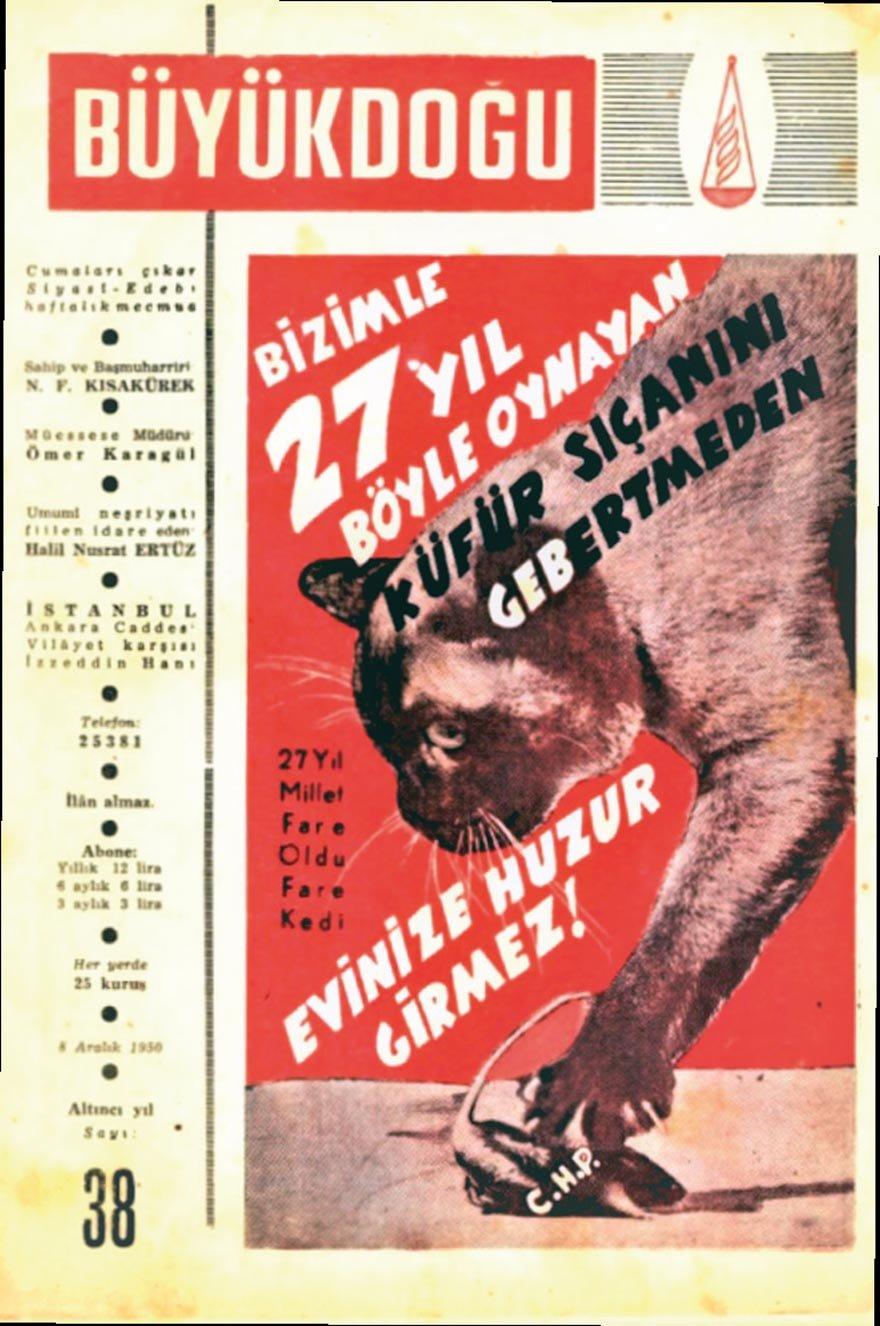 Büyük Doğu, 8 Aralık 1950
