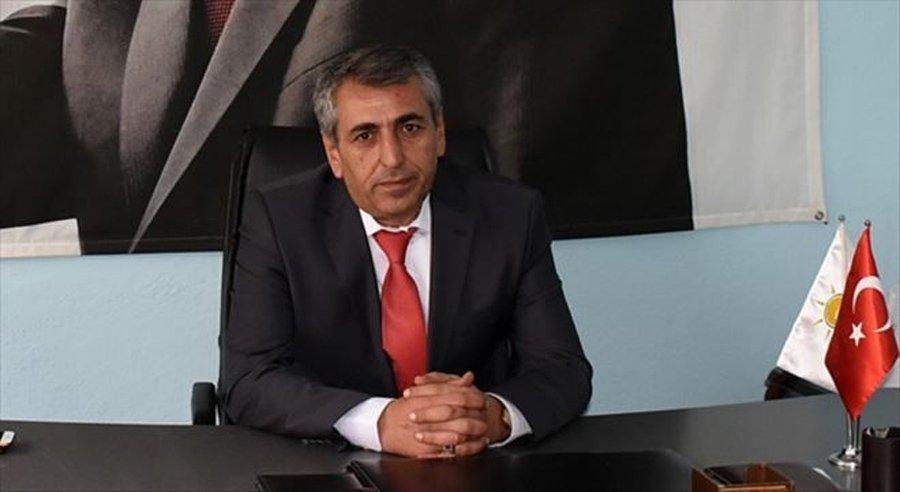AKP Nusaybin İlçe Başkanı Mehmet Latif Özel