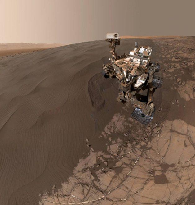 Curiosity uzay aracı 2011'de fırlatıldı.