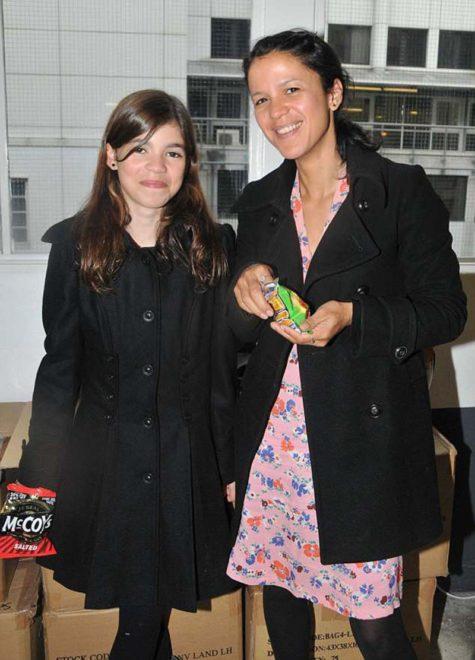 Molly ve annesi Lisa'nın 2009'daki bir karesi.