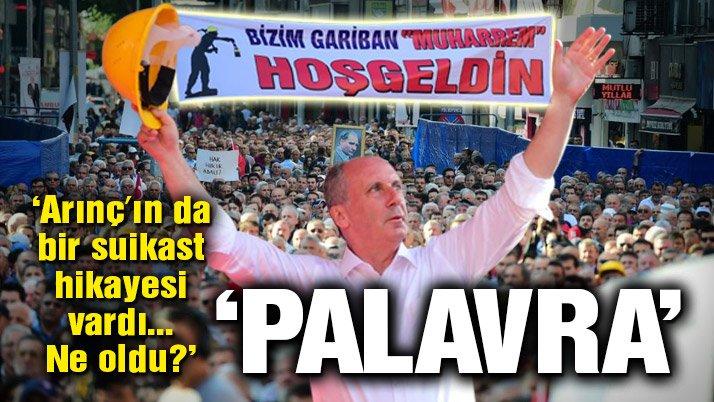 Son dakika: Muharrem İnce Zonguldak'ta