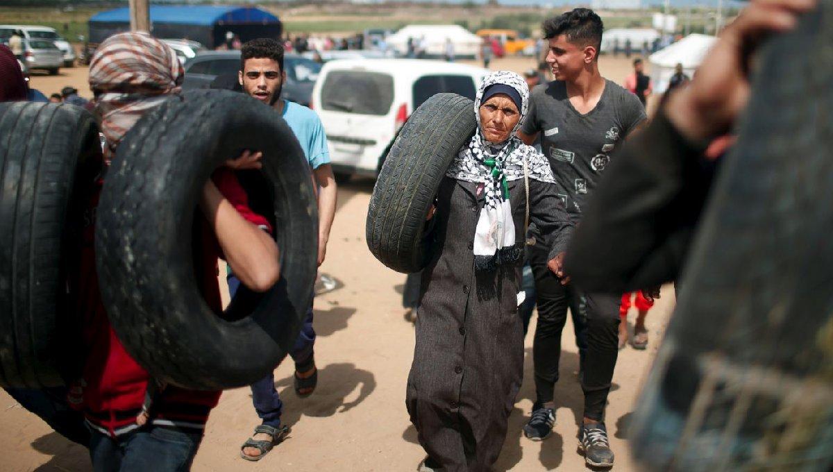 İsrail'i protesto etmek için başlayan gösterilere çok sayıda insanın katılması bekleniyor.