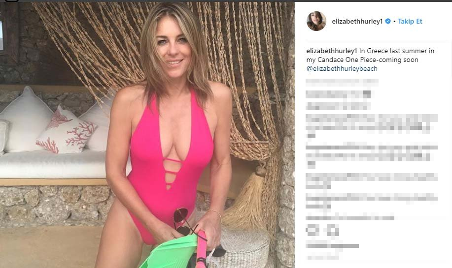 52 yaşlı aktrisa cəsur fotolar paylaşmağa davam edir