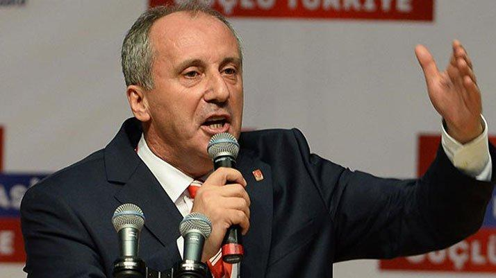 Muharrem İnce'den Erdoğan'a tepki: Testide ne varsa…