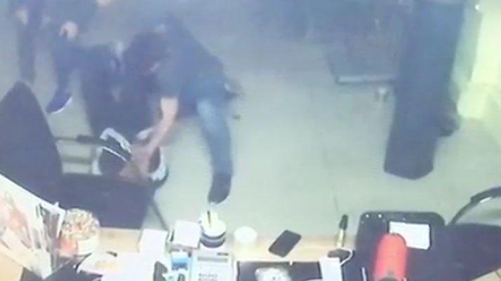 Fatih'teki cinayet güvenlik kamerasına yansıdı