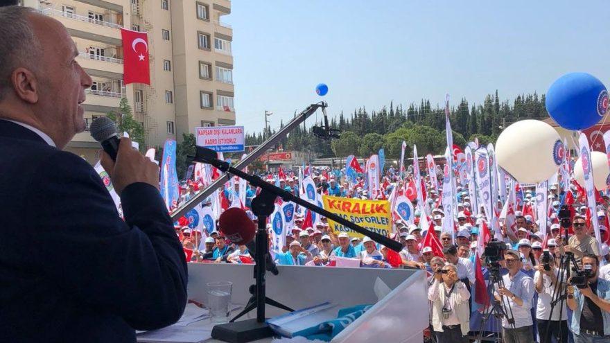 Türk-İş: Herkes aklını başına alsın, zararlı çıkarsınız