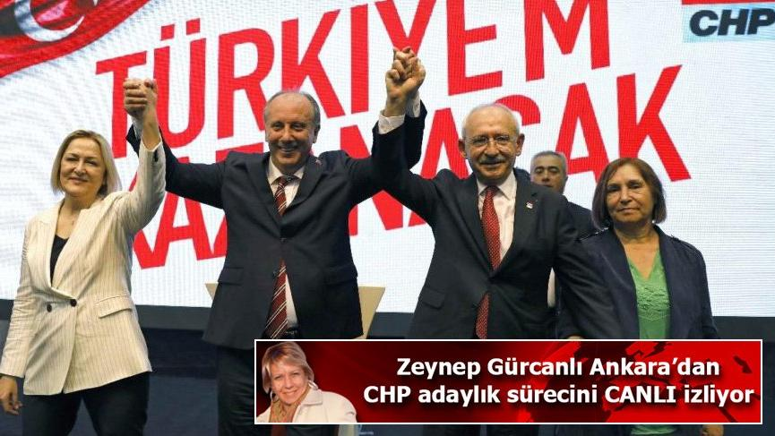 CHP'de Muharrem İnce resmen Cumhurbaşkanlığına aday gösterildi