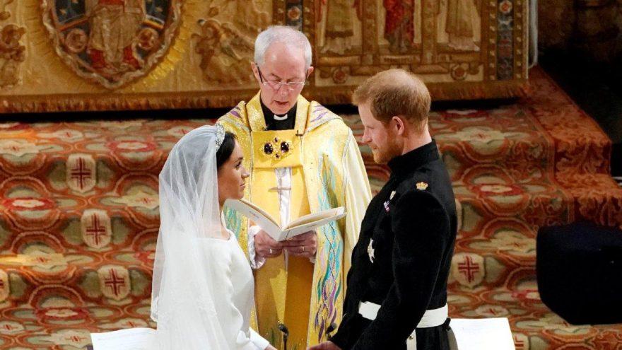 Dünya bu düğüne kilitlendi… Harry ve Meghan evlendi!