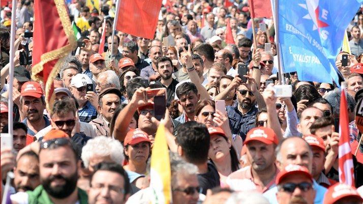 İstanbul'da 1 Mayıs coşkusu!