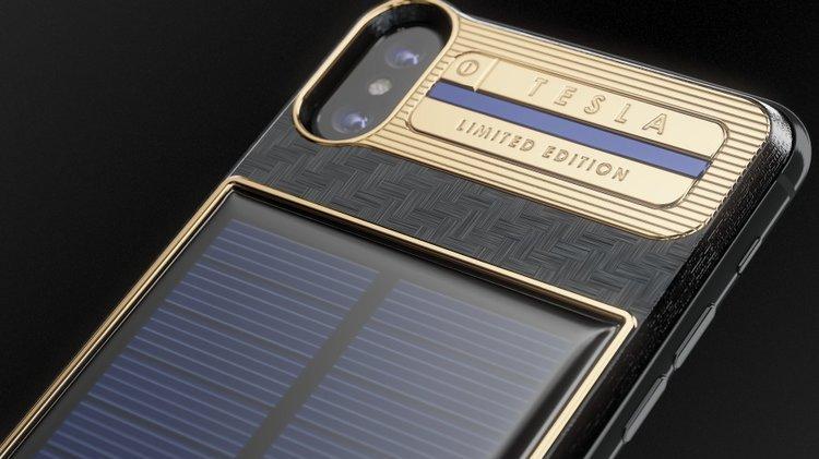 Güneş enerjisi ile çalışan iPhone