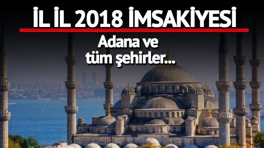 Adana iftar vakti: Adana'da oruç coşkusu | İftar ve sahur saatleri…