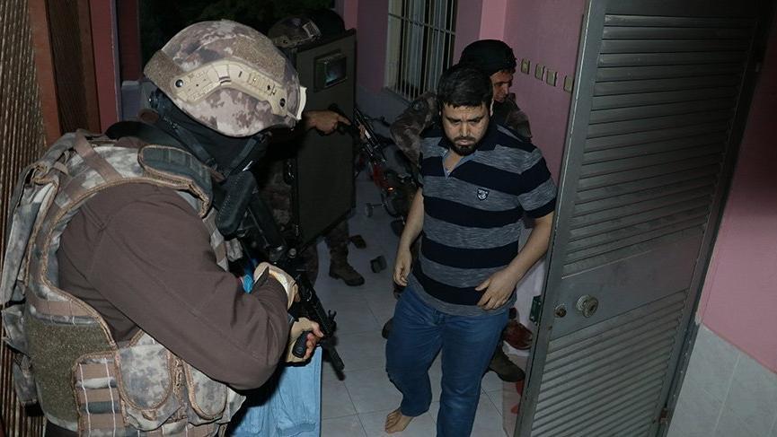 Adana'da IŞİD operasyonu! Çok sayıda gözaltı var