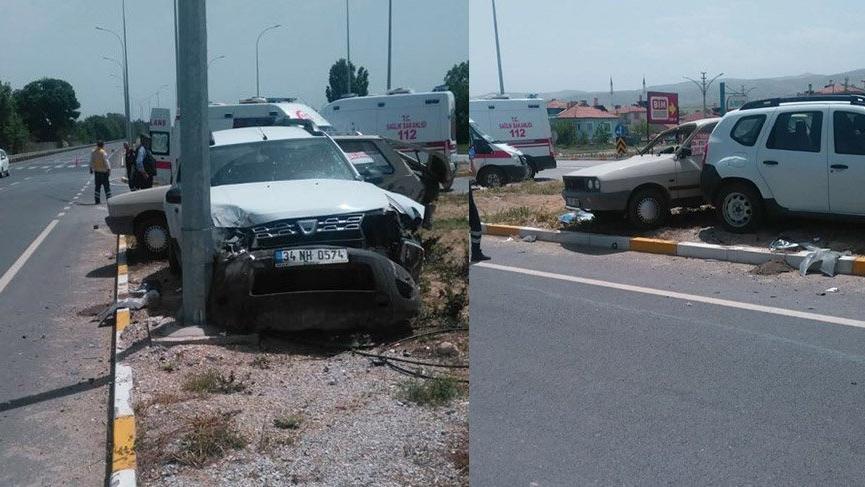 Afyonkarahisar'da trafik kazası… 4 yaralı