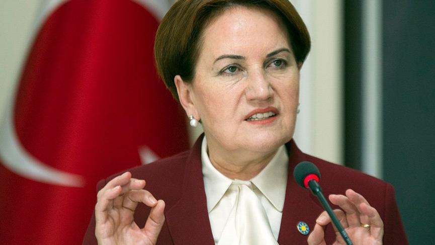 Akşener Başbakan İçişleri Bakanı ve Erdoğan'a seslendi
