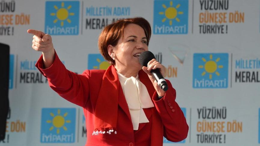 Meral Akşener Samsun'da konuştu