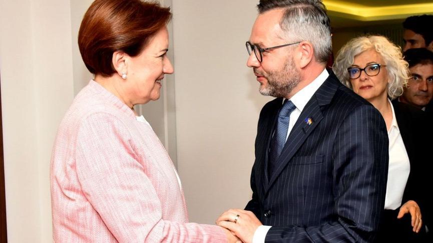 Alman Bakan, Meral Akşener'i ziyaret etti: Umarım seçimler demokratik ortamda olur