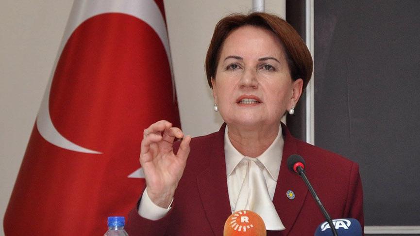Akşener'den 'Bahçeli' etiketli bomba tweet