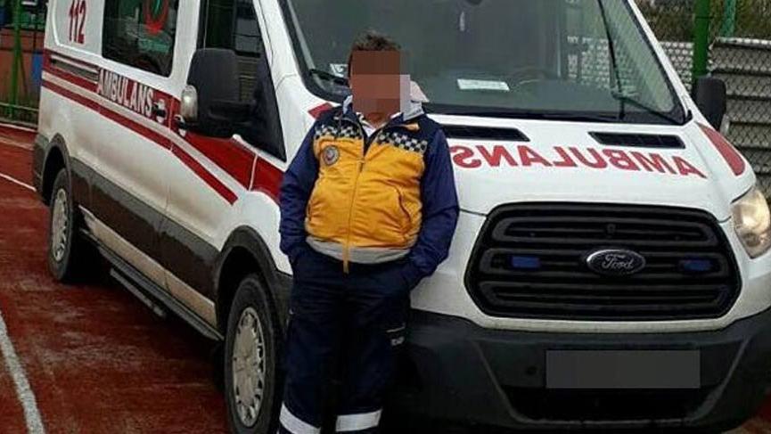 Ambulansta büyük skandal!