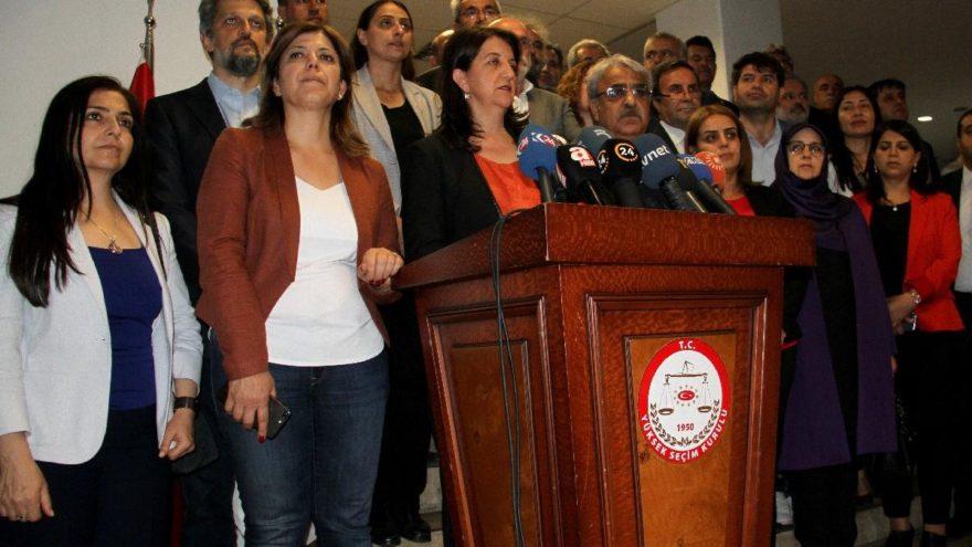 HDP'den Demirtaş için adaylık başvurusu
