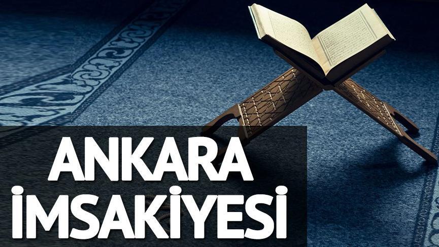 Ankara iftar vakti 2018: Ankara'da oruç kaçta açılacak? Ramazan imsakiyesi…