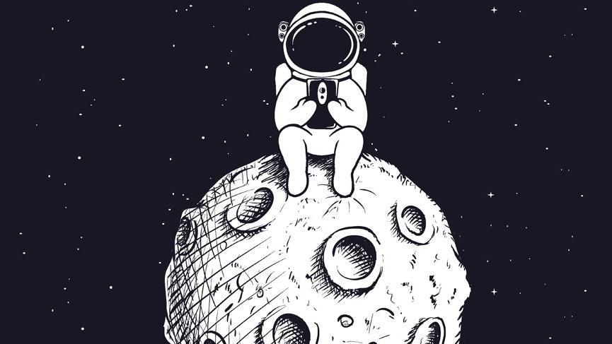 Haziran ayında Ay'ın boşlukta olduğu zamanlar!